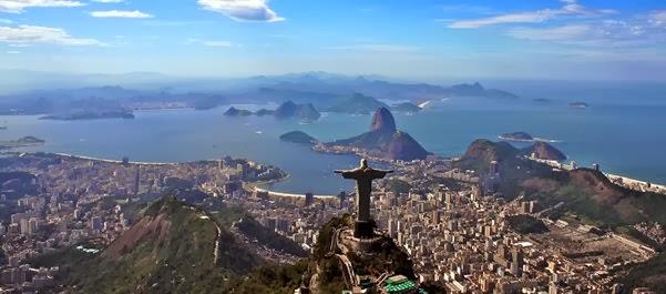 Férias no Estado de Rio de Janeiro, Brasil