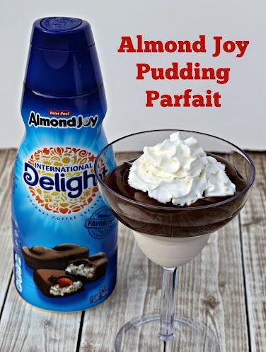 Almond Joy Pudding Parfait Recipe #IDelight