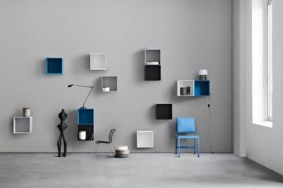 minimalist colorful furniture for home and office 4 554x369 Rak Dan Laci Modular Minimalis Yang Berwarna Warni