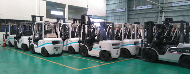 Nissan diesel forklift Japan by Unicarriers