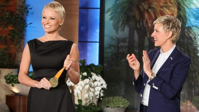 cut. Pamela Anderson shocked all with a new pixie do. How gorgeous and