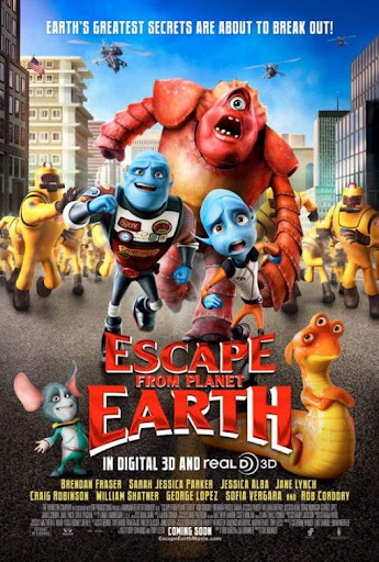 cartel de la pelicula de Escape from Planet Earth