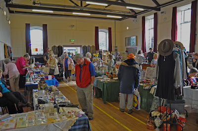 Inside the Antiques and Bric-a-Brac Fair