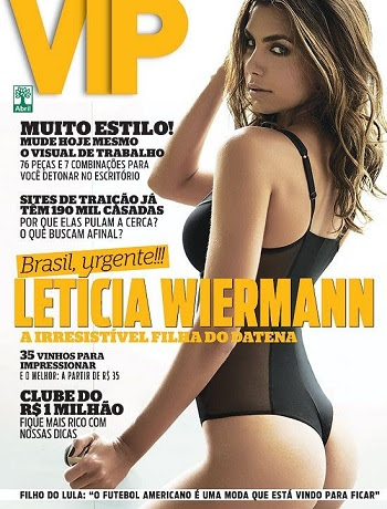 Baixar Leticia Wiermann (Filha do Datena) – Revista VIP