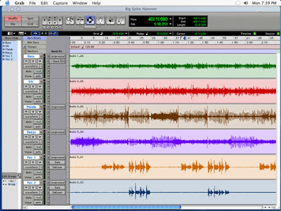 Pro Tools Session (not a SIMPSONS session)