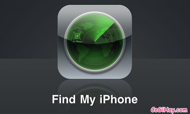 Bật Find my Phone tìm điện thoại iPhone – Chống trộm iphone