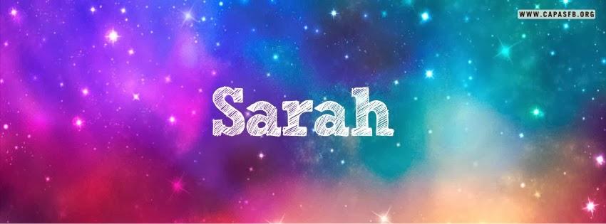 Capas para Facebook Sarah