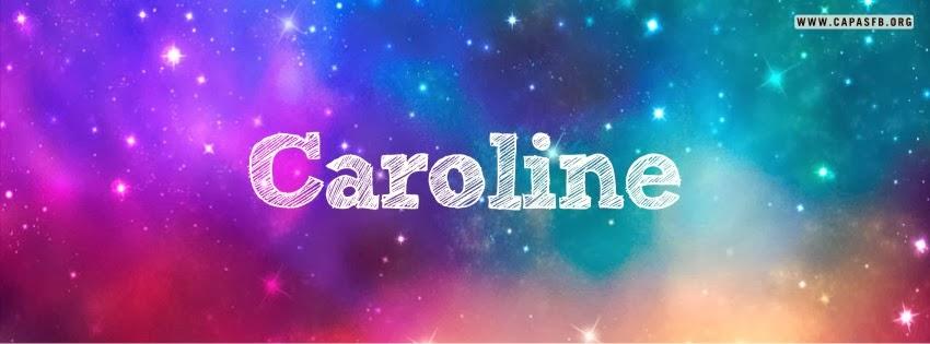 Capas para Facebook Caroline