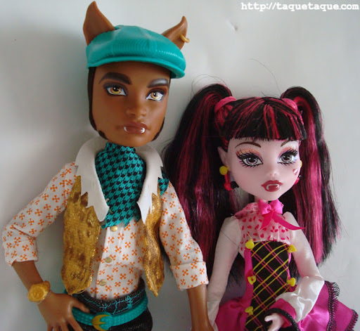 Monster High - Draculaura y Clawd Wolf