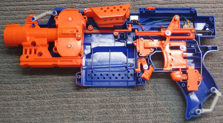 Stryfe Modification Overview - Modifications - NerfHaven