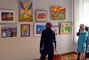 Николаевские юные художники приняли участие в творческом бьеннале