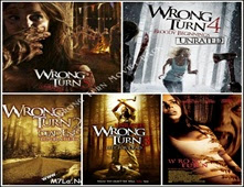 سلسلة افلام الرعب Wrong Turn