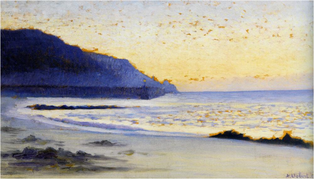 Alphonse Osbert - La Mer a Siouville