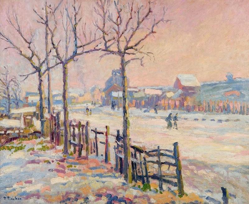 Robert Antoine Pinchon - Winter Landscape