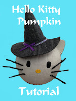 Hello Kitty Pumpkin Tutorial