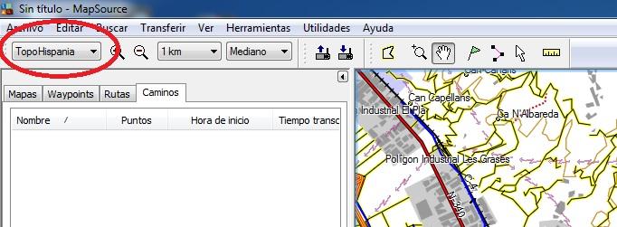 Guia Map Source de Garmin Mps1