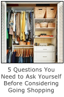 5 questions you need to ask yourself before going shopping