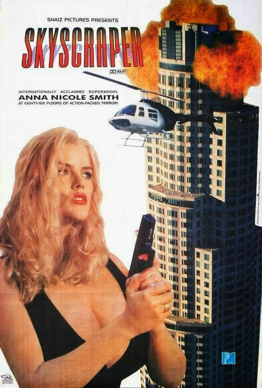 Poster Of Skyscraper (1996) Full Movie Hindi Dubbed Free Download Watch Online At Alldownloads4u.Com
