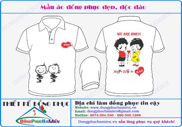 Dong phuc hoc sinh dep lop k43