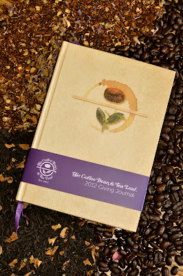 2012 giving journal campaign by The Coffee Bean and Tea Leaf