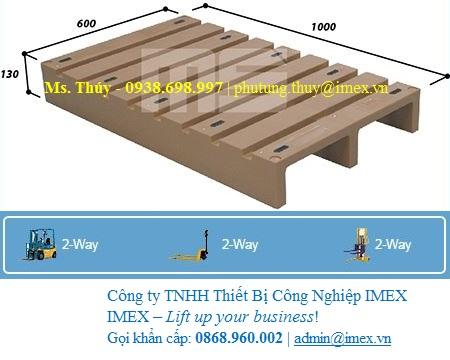 Pallet nhựa EN2-1006 nhập khẩu Malaysia