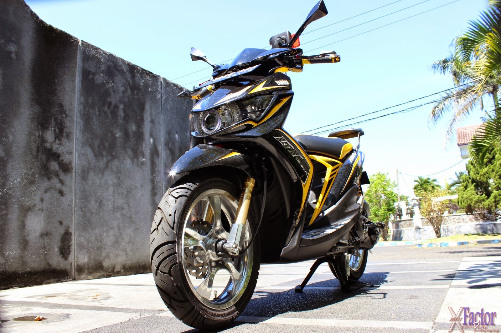 Mio Sporty Modifikasi Drag