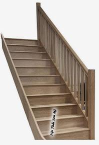 Cầu thang gỗ CTSM0103