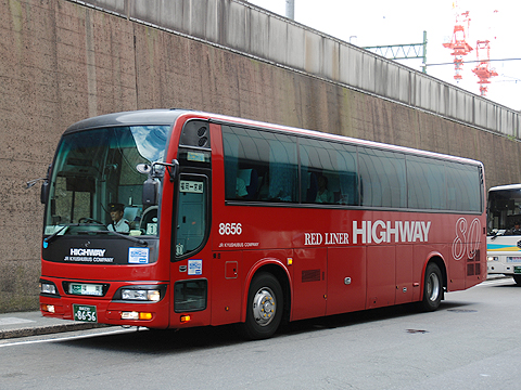 ジェイアール九州バス「フェニックス号」 8656