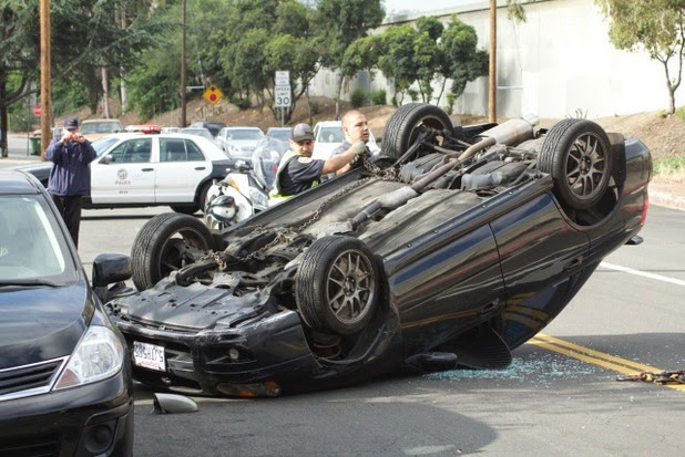 Eagle Rock, crash