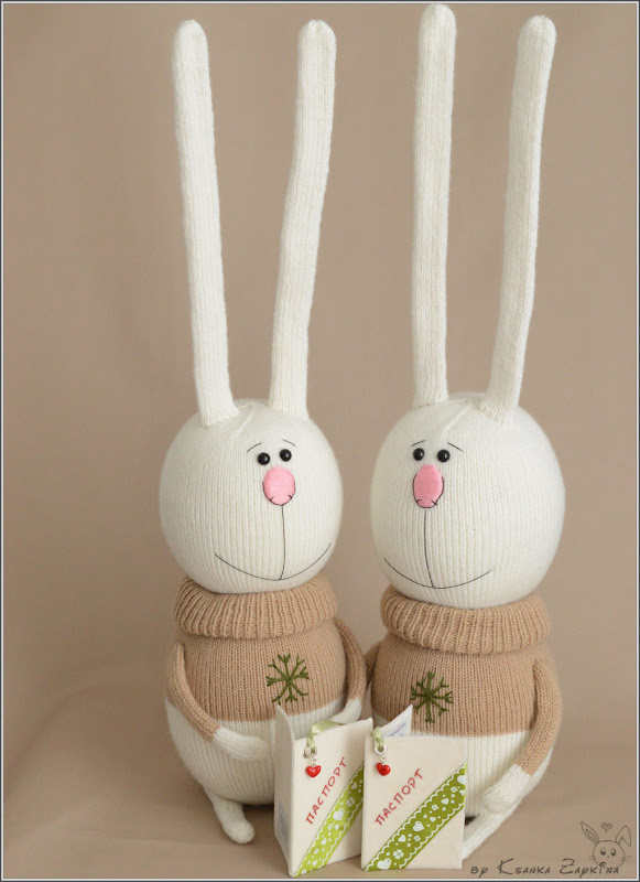 Амигуруми, вязаные игрушки, игрушки крючком, игрушки спицами, зайцы оробец, свадебные зайцы