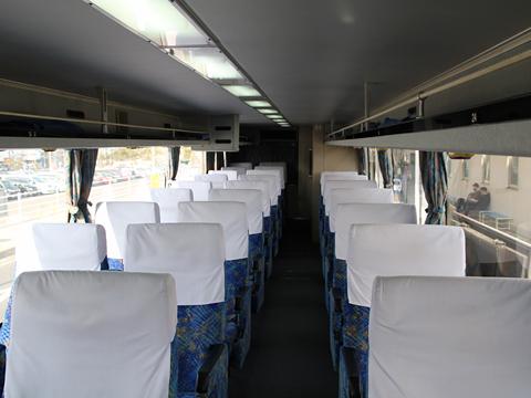 西鉄高速バス「桜島号」 6021 車内
