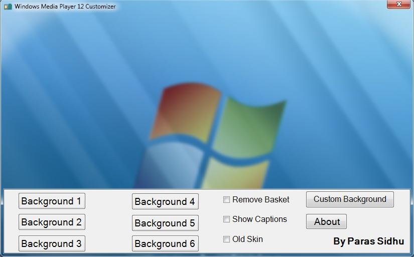 Windows Media Player 12 Customizer - Download Informer