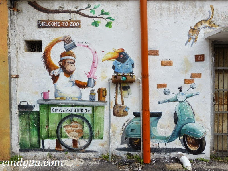 Mural Arts Lane Ipoh