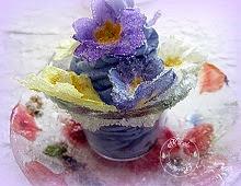 Mousse à la violette