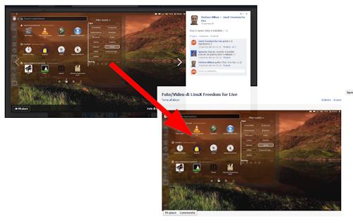 Facebook: visualizzare le immagini in vecchio stile