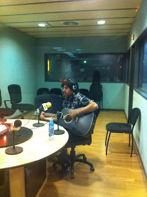 Le Clotêt Avec Garcés a la ràdio