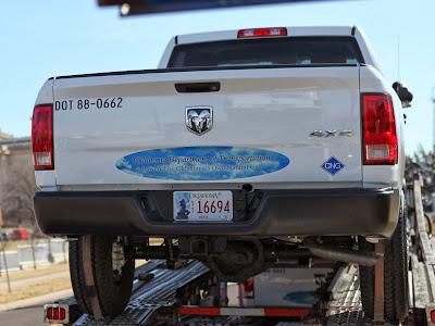 Dodge RAM 2500 CNG (grupa Chrysler). Amerykański pick-up na gaz ziemny