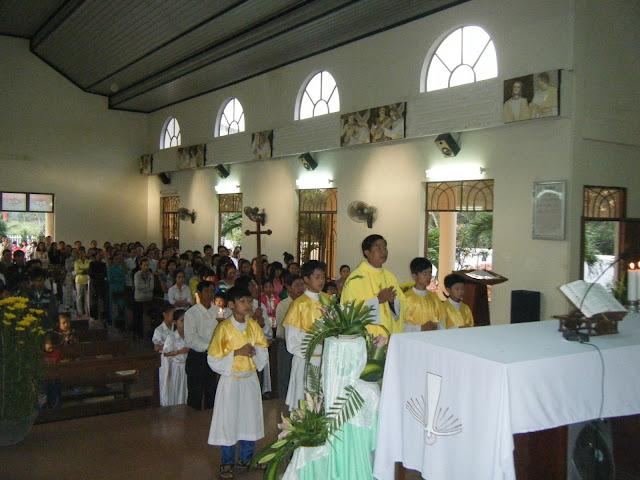 Giáo Xứ Đa Lộc đang được mùa ơn gọi