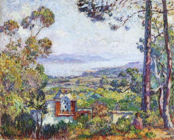 Henri Lebasque - View of Saint Tropez