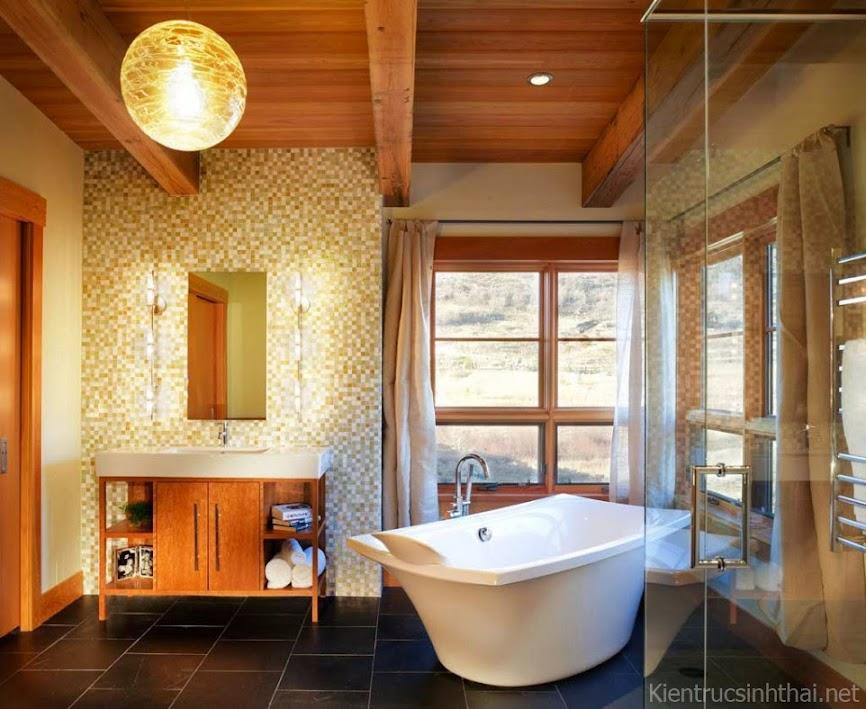 Mẫu Thiết Kế Phòng Tắm Đẹp 2013
