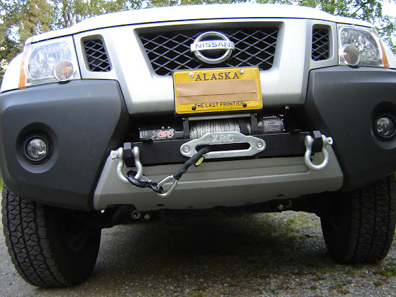 Review: RockyMtnX Front Winch Mount/Front Sliders/Maxterra ...