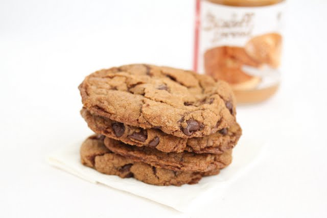 Flourless Biscoff Cookies