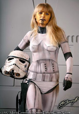 Body Painting Star Wars Characters Cosplay   MMORPG News