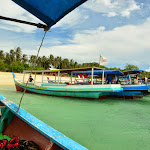 Przybijamy do Palau Kepayang.