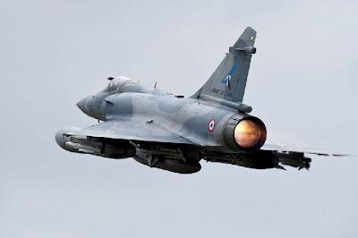 la proxima guerra libia caza bombardero mirage 2000-5