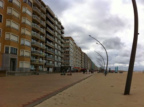 Jetée de la panne belgique mer du Nord