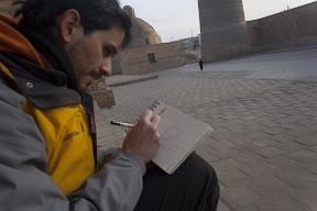 Dibujando la mezquita Kalon