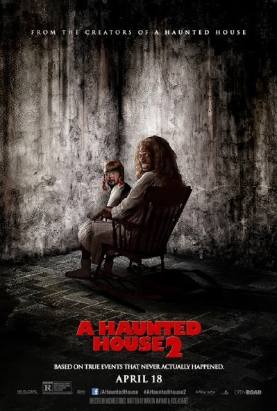 Poster Of English Movie A Haunted House 2 (2014) Free Download Full New Hollywood Movie Watch Online At Alldownloads4u.Com