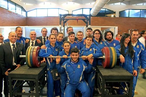 FIPE - Presentati gli Azzurri in partenza per i Mondiali