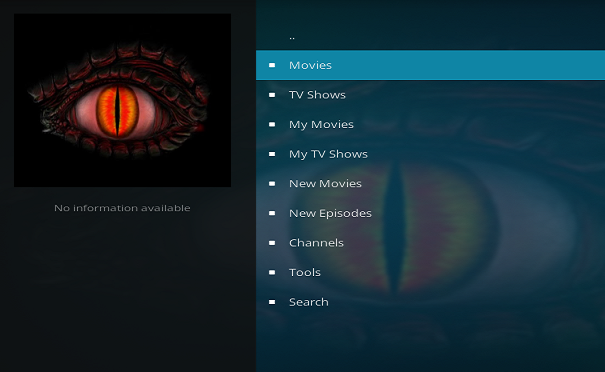 how to search tv shows on exodus